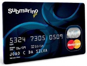 Cartão Submarino 2 Via