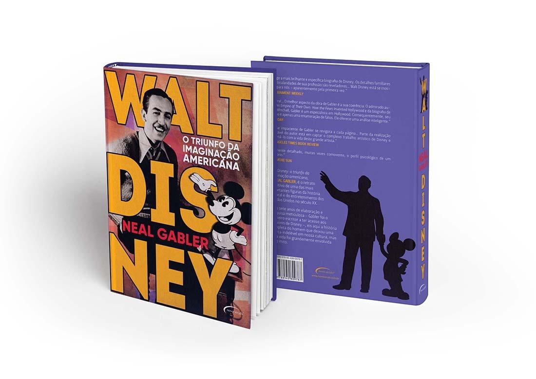 Americanas Livros - Walt Disney- o triunfo da imaginação americana